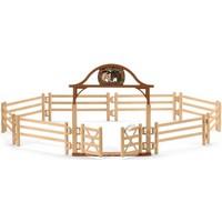 Omheining voor paarden met poort Schleich 42434