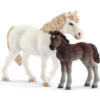 Pony en veulen Schleich