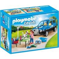 Mobiel hondensalon Playmobil