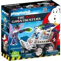 Spengler met kooiwagen Playmobil