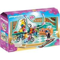 Fiets- en skatewinkel Playmobil