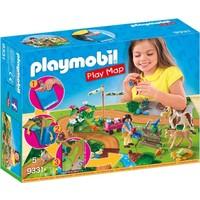 Ponyrijders met plattegrond Playmobil
