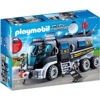 SIE-truck met licht en geluid Playmobil