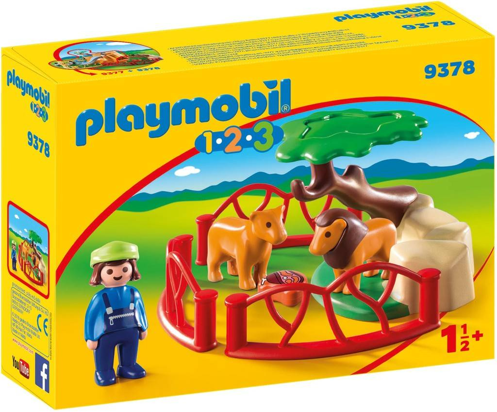 Leeuwenverblijf Playmobil