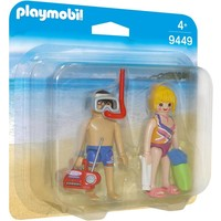 DuoPack Badgasten Playmobil