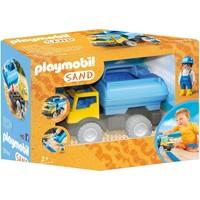 Vrachtwagen met watertank Playmobil