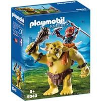 Reuzentrol met soldatendwerg Playmobil