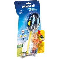 Piloot met werpbal Playmobil