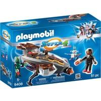 Sykronian ruimteschip met Gene Playmobil