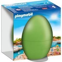 Ei Dierenverzorgster met zeehondenpup Playmobil
