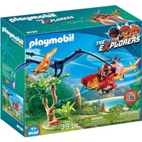 Helikopter met Pteranodon Playmobil