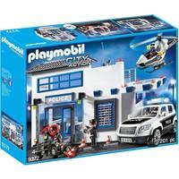 Politiepost met voertuigen Playmobil