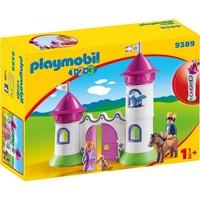 Kasteelpoort met koningskoppel Playmobil