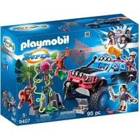 Monstertruck met Alex en Brute Brock Playmobil