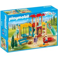 Grote speeltuin Playmobil