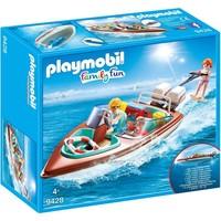 Motorboot met onderwatermotor Playmobil