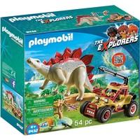 Explorersbuggy met Stegosaurus Playmobil