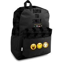 Rugzak Smiley born to smile