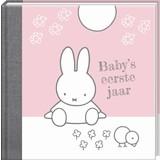 Boek Baby eerste jaar Nijntje roze