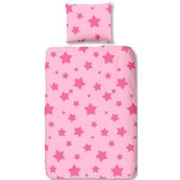 Dekbedovertrek Good Morning stars roze