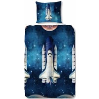 Dekbedovertrek Good Morning space shuttle