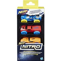 Nitro Foam Car Nerf: 3-pack