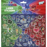 Stickervel holo PJ Masks ToTum: 45+ stickers