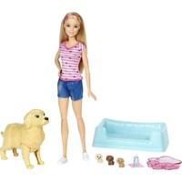 Pasgeboren puppy`s Barbie
