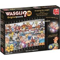 Puzzel Wasgij Original 28: Afvalrace 1000 stukjes