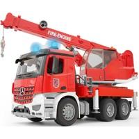 MB Arocs brandweerwagen met kraan Bruder
