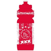 Bidon Ajax rood/wit grunge 750 ml