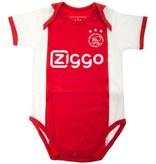AJAX Amsterdam Rompertje Ajax Amsterdam wit/rood/wit Ziggo maat 50/56