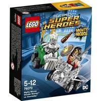 Mighty Micros: Wonder Woman vs Doomsday Lego