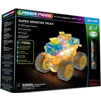Super monster truck Laser Pegs: 6 in 1