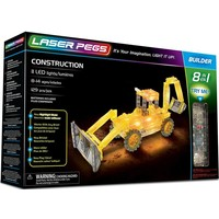 Construction Laser Pegs: 8 in 1