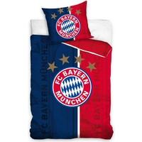 Dekbed Bayern Munchen: blauw/rood