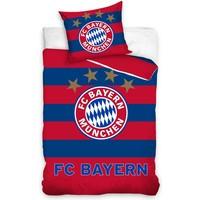 Dekbed Bayern Munchen: rood/blauw