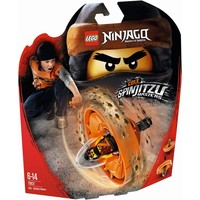 Spinjitzu-meester Cole Lego