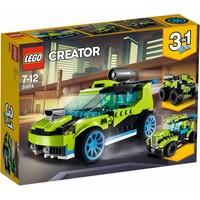 Raket rallyauto Lego