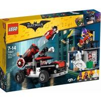 Harley Quinn kanonskogelaanval Lego