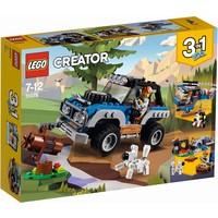 Avonturen in de wildernis Lego