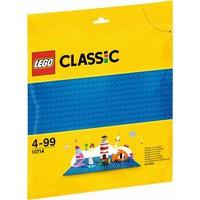 Blauwe bouwplaat Lego