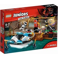 Zane`s ninjaboot achtervolging Lego