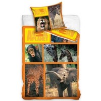 Dekbedovertrek Animal Planet wildlife