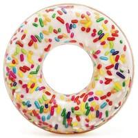 Zwemband opblaasbaar Intex donut sprinkle: 114 cm
