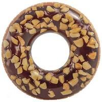 Zwemband opblaasbaar Intex donut choco: 114 cm