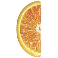 Sinaasappel opblaasbaar Intex 178x85 cm