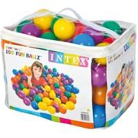 Ballenbak ballen Intex gekleurd 8 cm 100 stuks