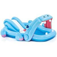 Zwembad opblaasbaar Intex nijlpaard: 221x188x86 cm