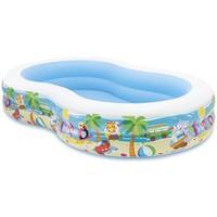 Zwembad opblaasbaar Intex strand: 262x160x46 cm